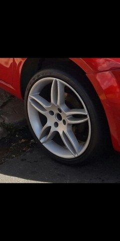 Roda e pneus aro 17 (vendo ou troco)