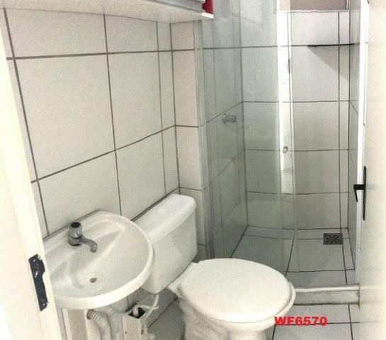 AP1052 Aimará, apartamento com 2 quartos, 1 vaga, condomínio no Cambeba, campo de futebol - Foto 7