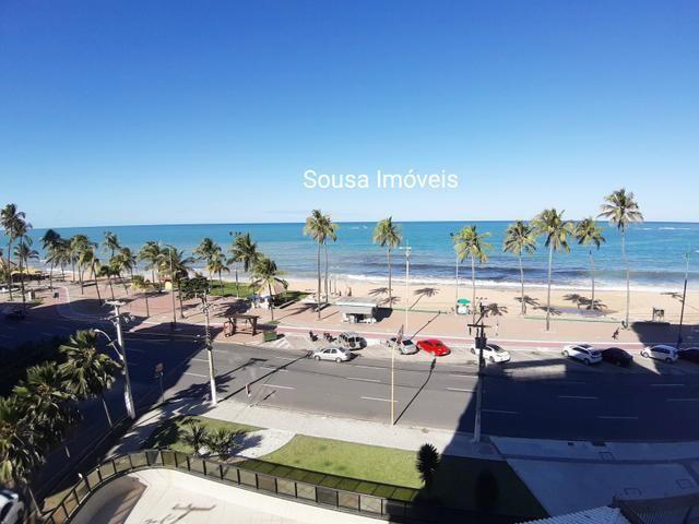 Beira mar! alto padrão! 380 m 4 suítes +dce - Foto 5