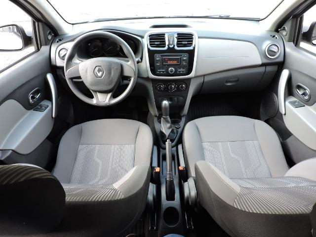 Renault Logan Expression 1.6 completo prata - apenas 43.500 km - Foto 5