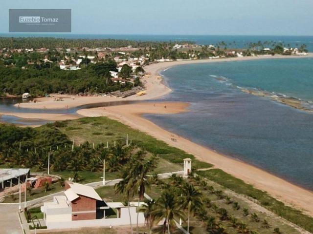 Terreno em condomínio fechado à beira mar no sonho verde - Foto 20