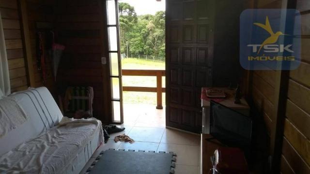 CH0315 - São José dos Pinhais Chácara 20.000 m² casa nova, internet fibra ótica. - Foto 4