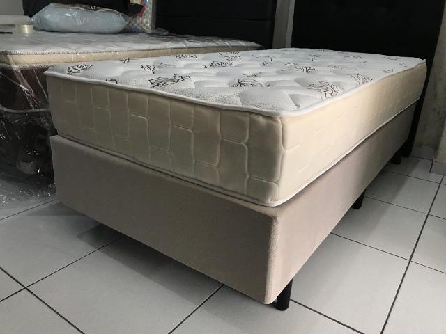 Cama Box Solteiro Umaflex em Molas - Peça Nova! - Foto 5