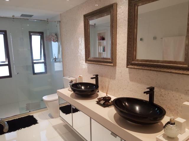 Apartamento Lumno 4 Suítes 276m2 Alto 4 vagas Decorado Nascente linda vista mar - Foto 8