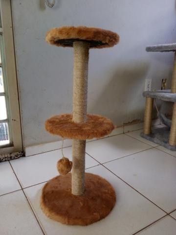 Arranhador para gatos redondo - Foto 3
