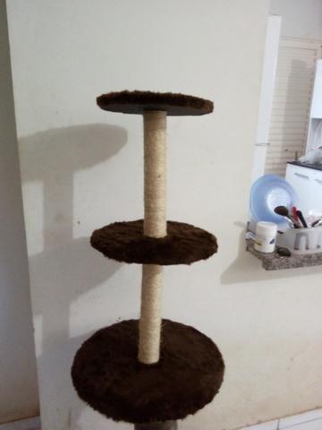 Arranhador para gatos redondo - Foto 4