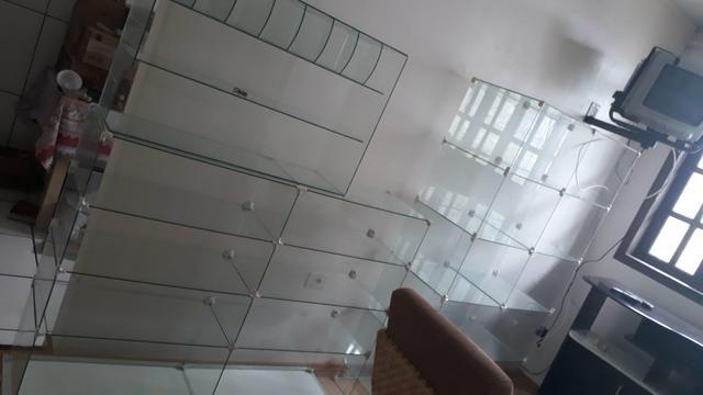 3 vitrines + mesa de vidro - Foto 6