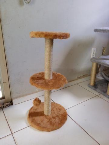 Arranhador para gatos redondo - Foto 2