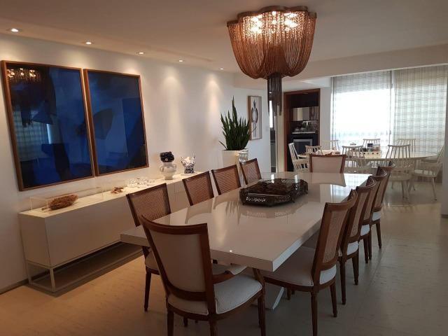 Apartamento Lumno 4 Suítes 276m2 Alto 4 vagas Decorado Nascente linda vista mar - Foto 2
