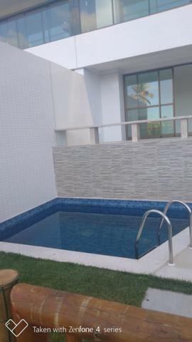 Apartamento térreo jardim C/ piscina privativa 4 suítes cond paradiso reserva do paiva - Foto 14