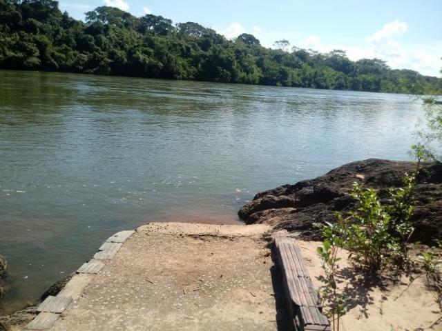 Chácara de 4 Hectares na Beira do Rio Cuiabá antes de Acorizal - Foto 2