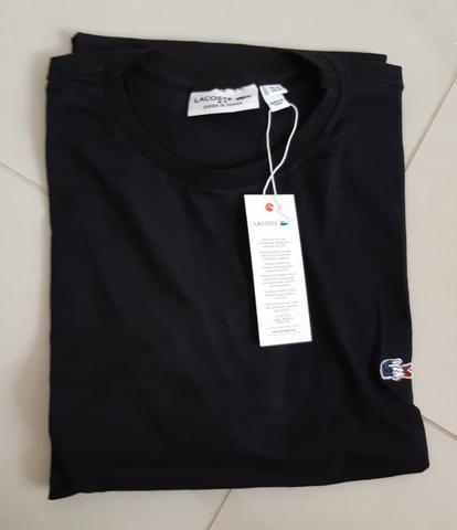 7d2fa0720 Camiseta Lacoster Importada do Peru Nova