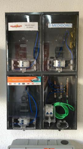 ca70f5b2a42 Caixa de Luz para 3 relogios Int. Eletropaulo Enel completa ...