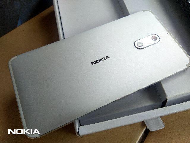 Smartphone Nokia 6 Android 9 Pie-Prata LTEDualSim/4GB Ram/64GB Rom/16MP Camera/Tela 5.5 HD - Foto 5
