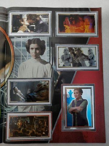Álbum De Figurinha Star Wars Despertar Da Força - Foto 2