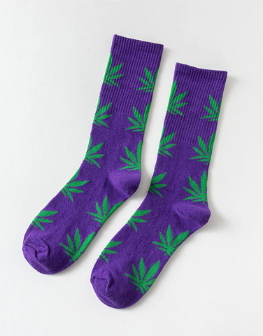 Meia Estampada Weed HUF Cannabis Algodão Adulto - Foto 5