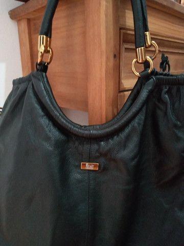 Bolsa em couro preta - Steil - Foto 4