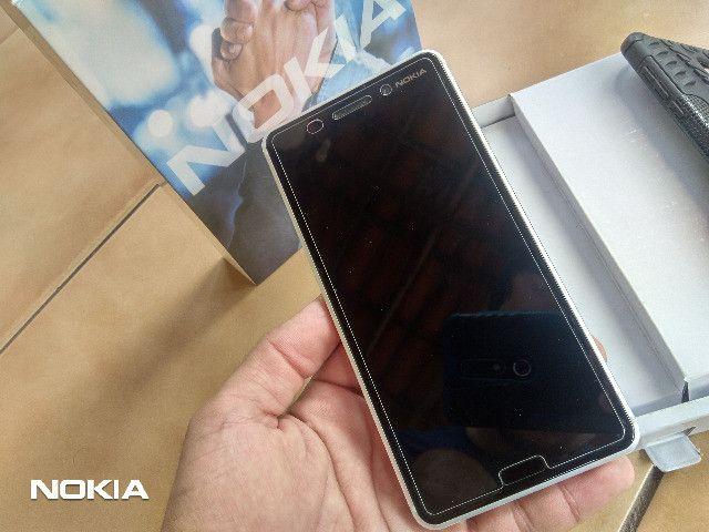 Smartphone Nokia 6 Android 9 Pie-Prata LTEDualSim/4GB Ram/64GB Rom/16MP Camera/Tela 5.5 HD