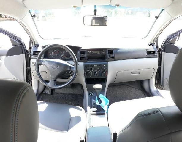 Toyota/Corolla XLI16VVT - 2004/2005 - Cinza - Foto 10