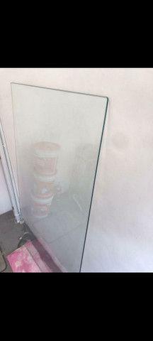 Vidro de mesa  temperado 160x 100 - Foto 4