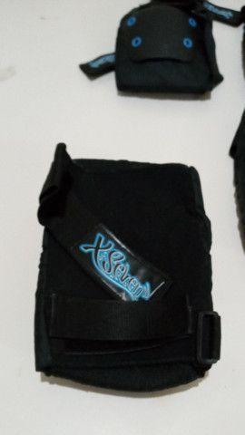 Kit Proteção Skate X-Seven - NOVO - Tam: M - Foto 3