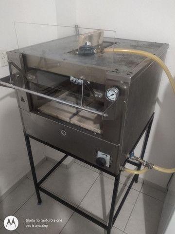 Vendo forno de pizzas e pães  promac 500 graus com infravermelho - Foto 3