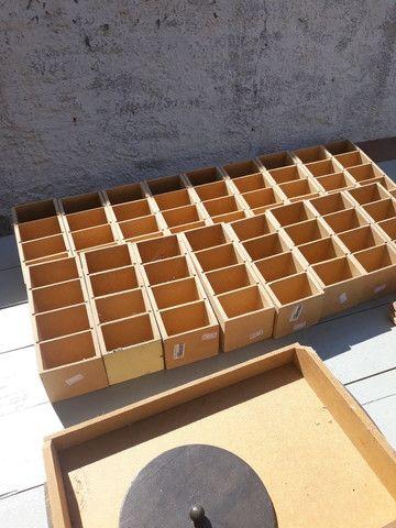 Lote de caixas de MDF para artesanato - Foto 2
