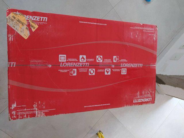 Aquecedor a gás LZ2000 novo na caixa com NF - Foto 6