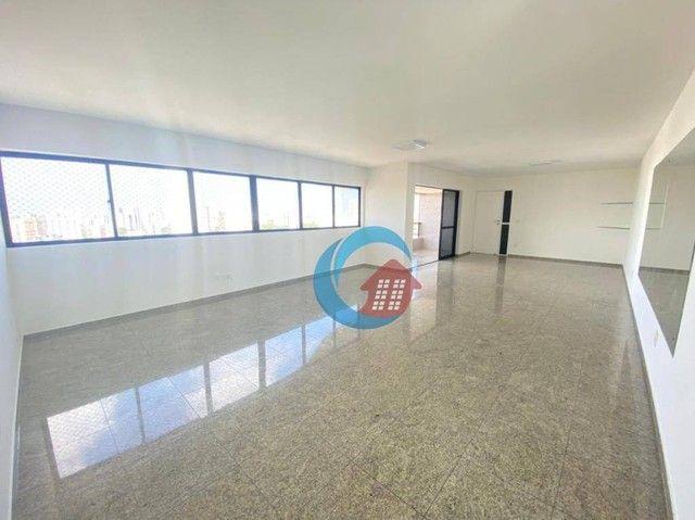 Apartamento com 4 quartos para alugar, 210 m² por R$ 6.500/mês - Casa Forte - Recife/PE - Foto 5