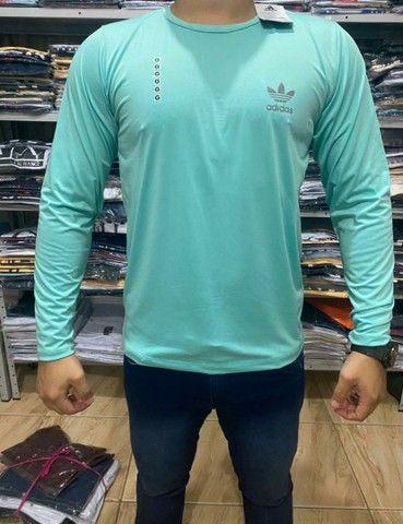 Blusas masculinas Adidas Nike Mizzuno