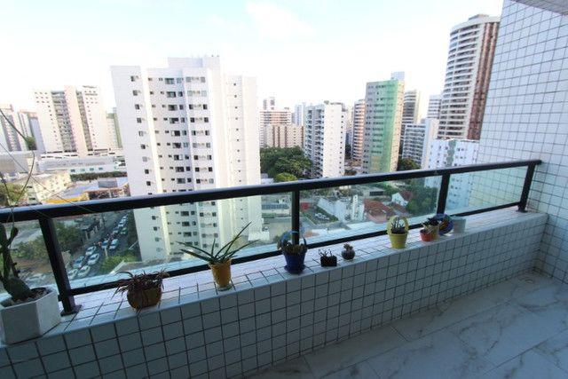 Apartamento jaqueira 3 quartos 2 suites 130m2 com 2 vagas, Recife-PE - Foto 15