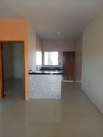 Casa nova com suite e porcelanado e churrasqueira  canelas vg - Foto 10