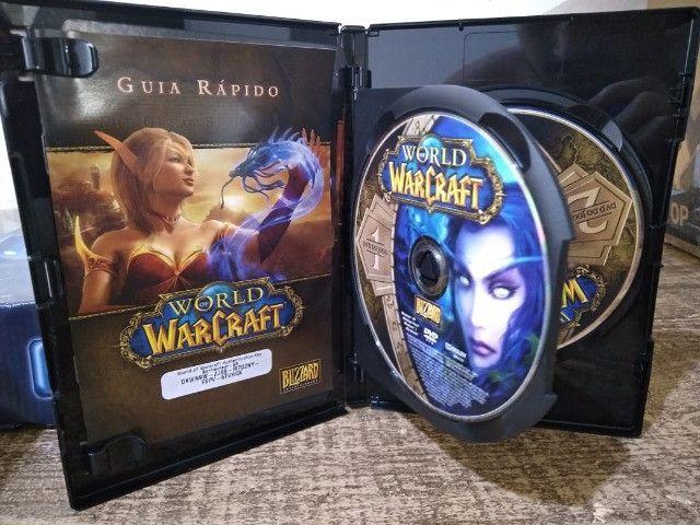 Jogo pc -DVD duplo - World of Warcraft