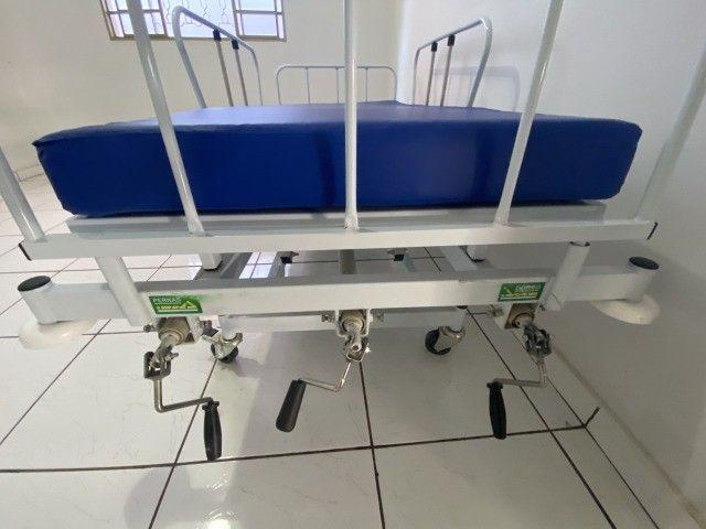 Cama Hospitalar - 3 movimentos - Foto 3