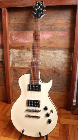 Kit Guitarra Ibanez ART120 Les Paul + Bag Premium + Cabo + Correia Planet Waves - Foto 2