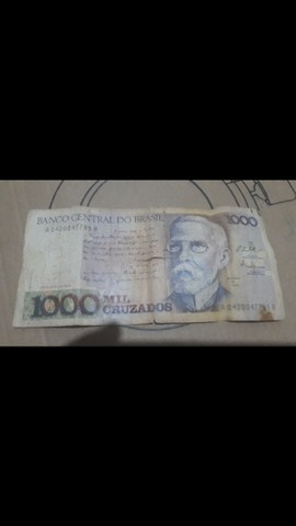 Cédulas  de dinheiro  antigo - Foto 5
