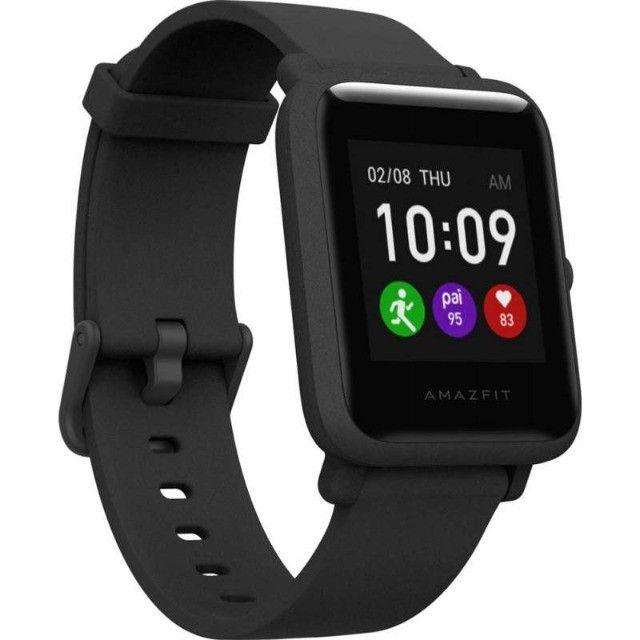 Relógio Amazfit Bip S Lite A1823 - Charcoal Black - 12X Sem Juros - Foto 3