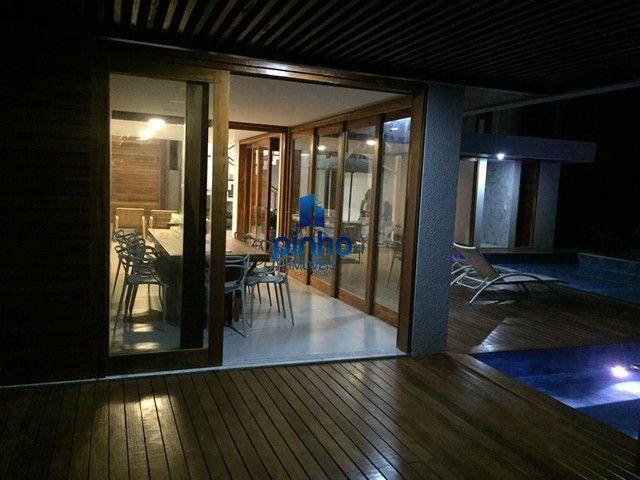 Casa Duplex para Venda em Mata de São João, PRAIA DO FORTE, 5 dormitórios, 5 suítes, 5 ban - Foto 8