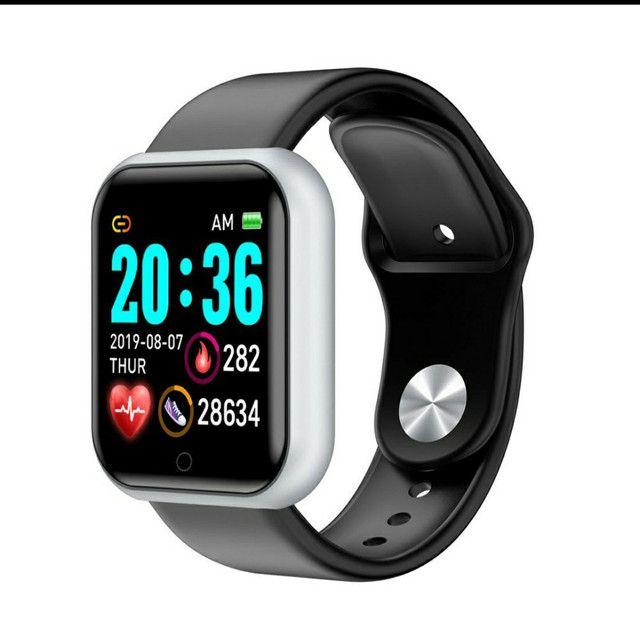 Smartwatch Y68 D20 Relogio inteligente conexão Bluetooth  - Foto 3