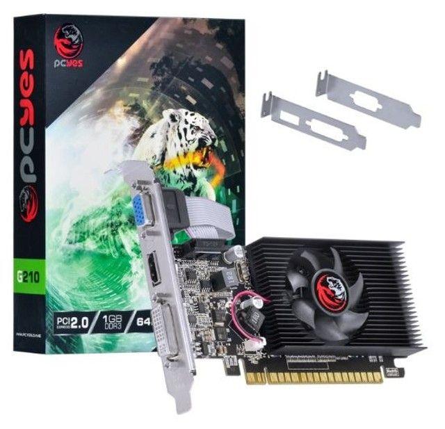 Placa de video Nvidia Geforce G 210 1Gb Ddr3 64 Bits