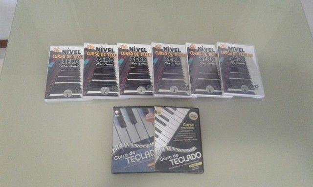 Curso de piano e teclado com 8 DVDs  - Foto 3