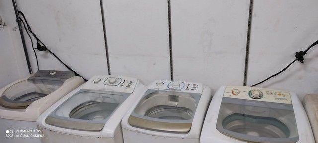 Maquina de lavar REVISADA tudo ok 3 meses de garantia  ( Entrego )
