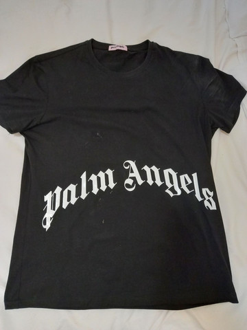 Camiseta palm Angels única aqui top tam g