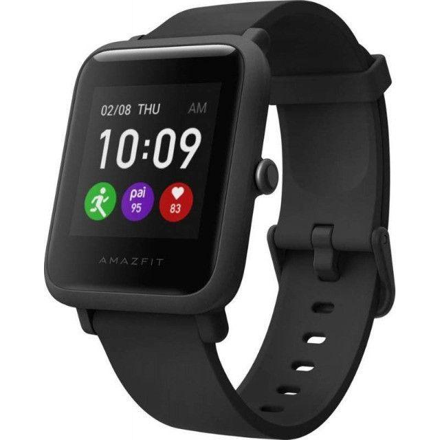 Relógio Amazfit Bip S Lite A1823 - Charcoal Black - 12X Sem Juros - Foto 2