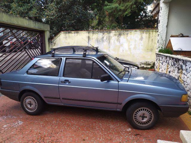 Volkswagen Voyage CL 1992 1.6 Azul - Foto 4