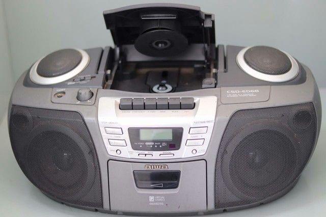 Rádio som Aiwa csd-ed68 funciona tudo - Foto 3