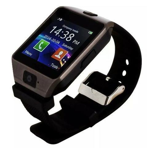 0f587a3e361 Relógio Celular Smart Watch Dz09 Slot Chip Cartão De Memória ...