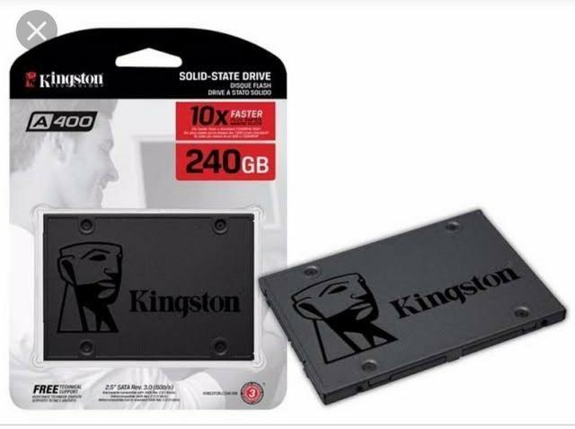 Hds SSD 240Gb kingston