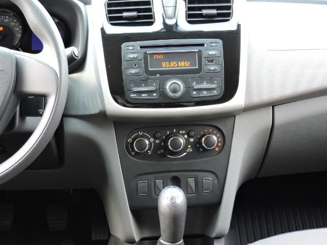 Renault Logan Expression 1.6 completo prata - apenas 43.500 km - Foto 7