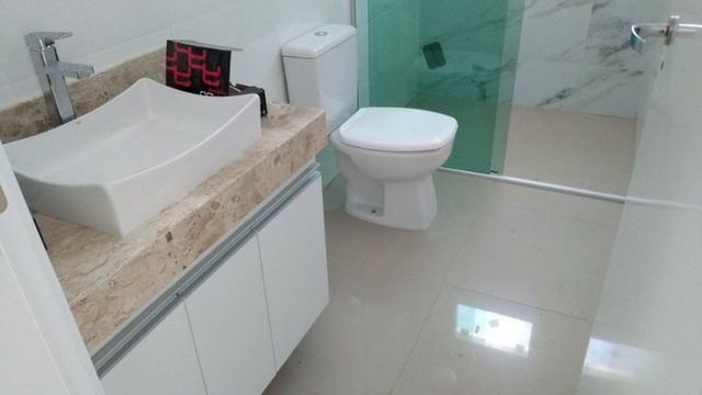 Samuel Pereira oferece Casa Moderna Alto da Boa Vista 3 Suites Churrasqueira Financia FGTS - Foto 12